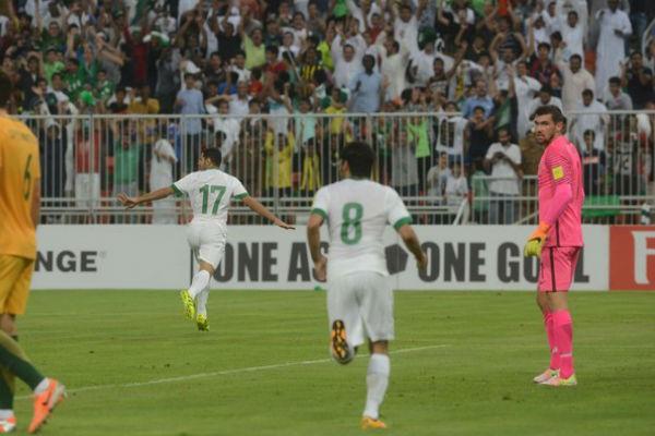 تعادل ثمين للسعودية بعدما كانت متأخرة بهدفين مقابل هدف