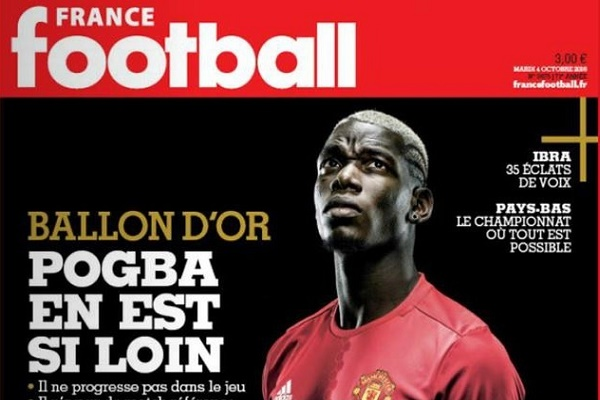 فرانس فوتبول تؤكد بأن بوغبا بعيد عن صراع الكرة الذهبية