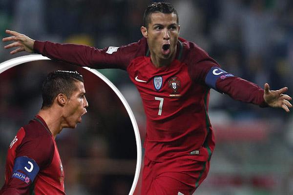 شهدت مباراة البرتغال وأندورا توقيع النجم رونالدو على أول