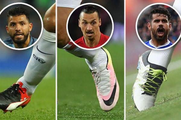 يتصدر ترتيب الهدافين الإسباني كوستا الذي يرتدي علامة