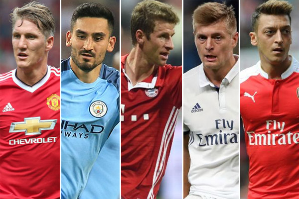 قائمة اللاعبين الألمان الأعلى أجراً