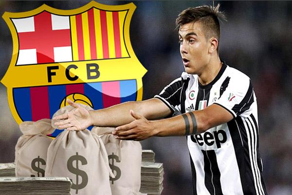 ديبالا كشف عن رفض نادي يوفنتوس الإيطالي لعرض ضخم من برشلونة في الميركاتو