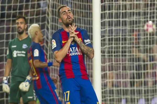 متى يسجل ألكاسير هدفه الأول مع برشلونة؟!
