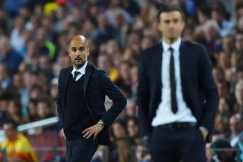 مدرب برشلونة يهب لنجدة صديقه