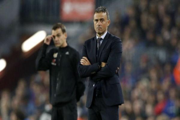 إنريكي: على برشلونة أن يكون اكثر فعالية في زيارته إلى سيتي