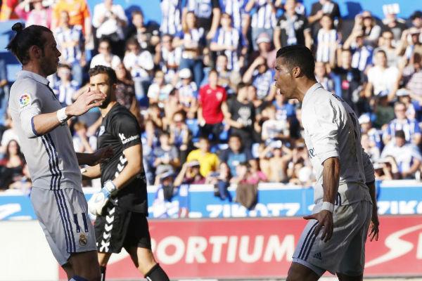 كريستيانو رونالدو يقود ريال مدريد لهزيمة آلافيس