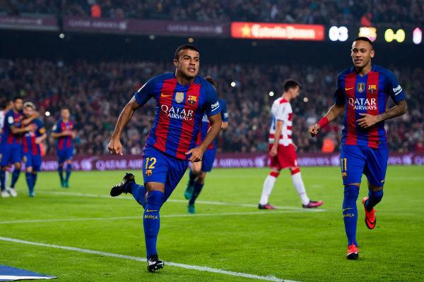 رافينيا أحرز هدف الانتصار لبرشلونة على غرناطة