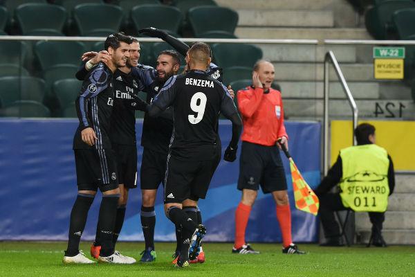 ريال مدريد يجدد فوزه على ليغا وارسو