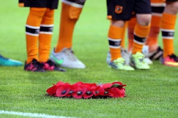 بدأت أندية الدوري الإنكليزي الممتاز لكرة القدم احياء ذكرى ضحايا الجيش الألماني في الحرب العالمية الأولى