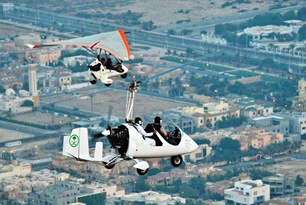 السعودية تمنحُ الطيران الرياضي ترخيصا