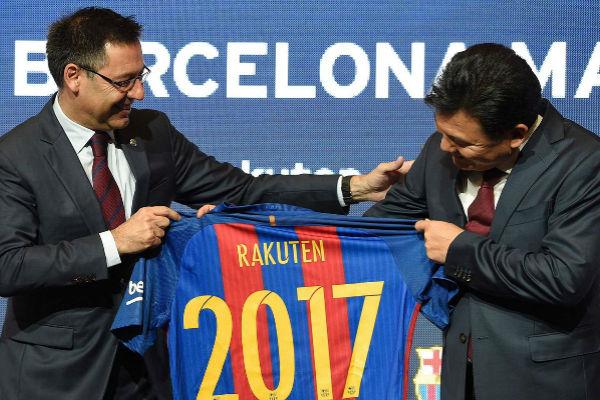 برشلونة يكشف الراعي الجديد لقميص برشلونة