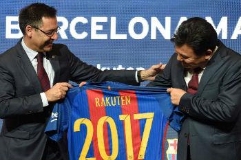 برشلونة يوقع عقد رعاية جديد مع شركة