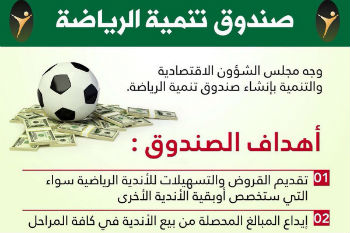 السعودية ستنشئ صندوقاً لـ