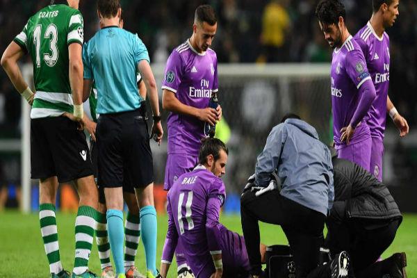 إصابة غاريث بيل قبل 11 يوماً من الكلاسيكو مع برشلونة