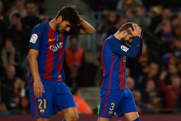 برشلونة متهم بخرق قوانين الدوري الإسباني بعد مباراة ملقة