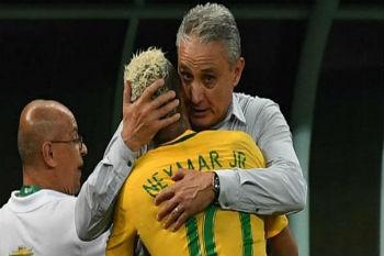 مدرب البرازيل يقر بتأثر نيمار بالملاحقات القانونية والضريبية