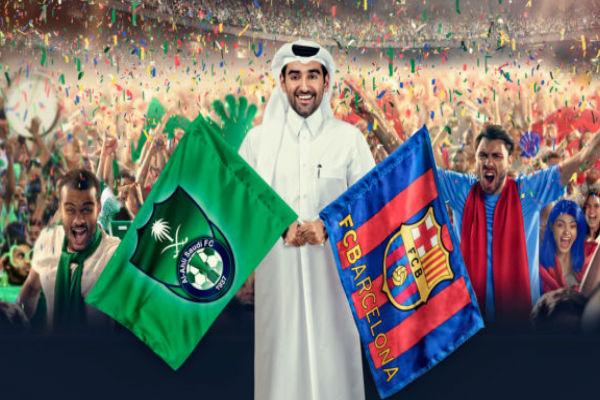 الجماهير الخليجية تنتظر بشغف قدوم نجوم برشلونة إلى الدوحة