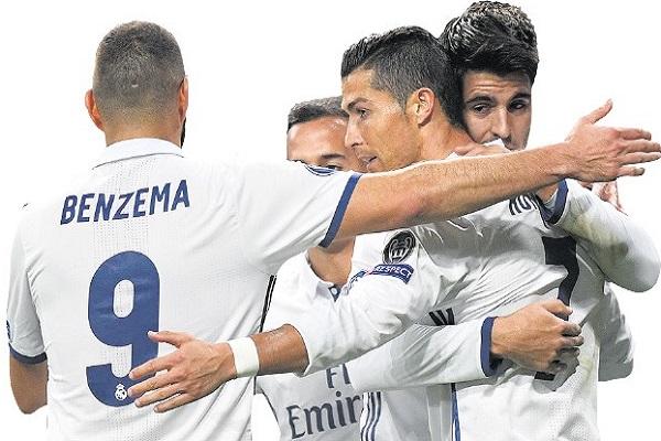 ريال مدريد فرض هيمنته المطلقة على بطولة الدوري الاسباني خلال الموسم الرياضي الحالي 2016-2017