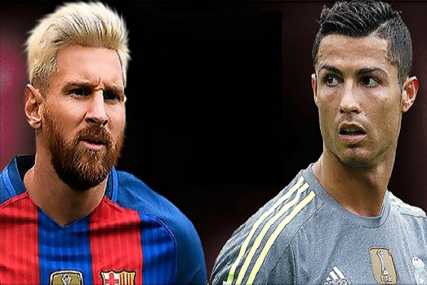 تصدر الأرجنتيني ميسي هداف نادي برشلونة والبرتغالي رونالدو هداف نادي ريال مدريد الترتيب العام في إسبانيا