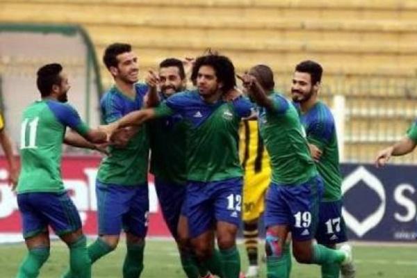 المقاصة يتصدر الدوري المصري مؤقتا بالفوز الثامن توالياً