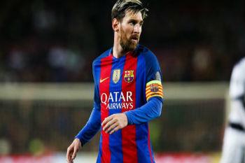 ميسي يرتقي رابعاً كأكثر اللاعبين حضوراً في مباريات برشلونة