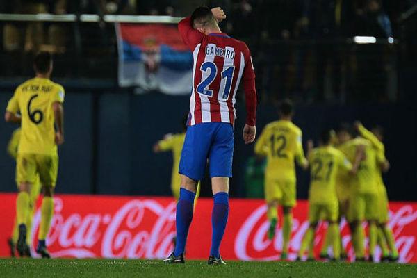 فياريال يستعيد نغمة الانتصارات على حساب اتلتيكو مدريد