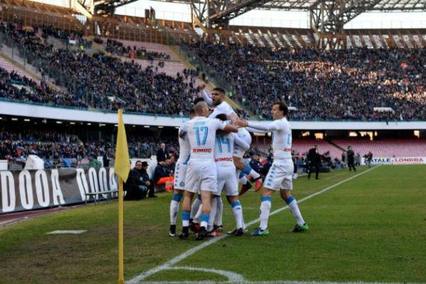 نابولي يمطر شباك تورينو بخماسية وفوز لإنتر ميلان