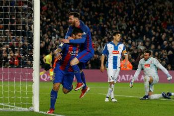 برشلونة يحسم الدربي ومانشستر سيتي يتخطى عقبة أرسنال