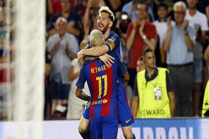 نيمار: هكذا ساعدني ميسي عندما كنت حزيناً في برشلونة