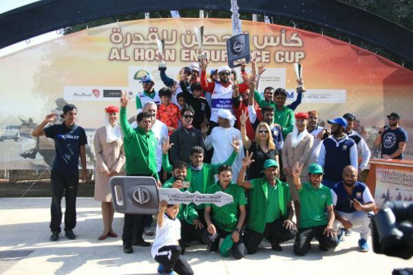المزروعي يتوج بسباق الحصن للقدرة في أبو ظبي