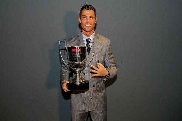 كريستيانو رونالدو نال لقب أفضل هداف في الليغا