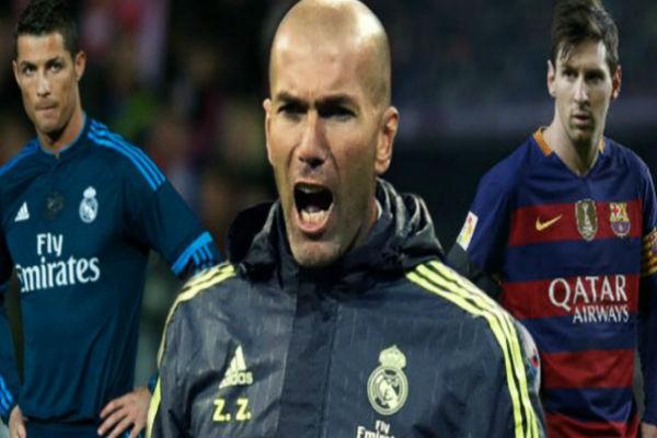 زيدان يفضل لاعبه البرتغالي على البرغوث الأرجنتيني