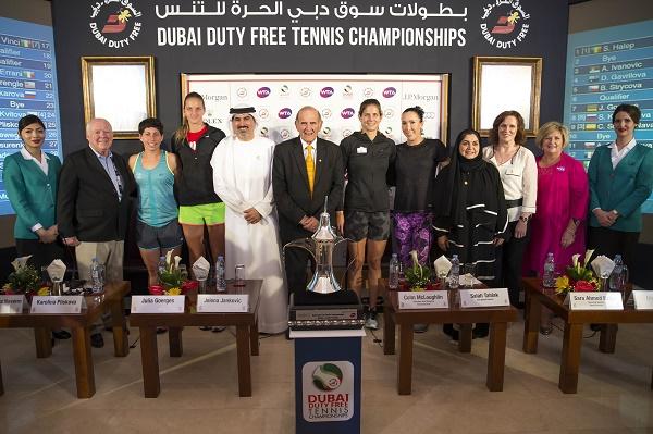 الإصابات والمرض يُغيبان أبرز نجمات التنس عن بطولة دبي الدولية