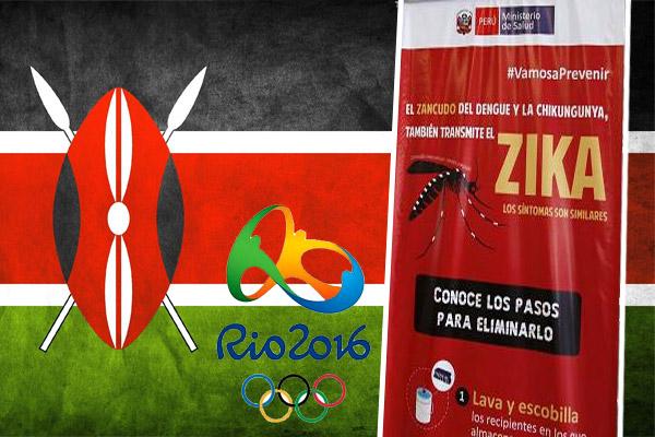 كيينا تلمح بالانسحاب من المشاركة في أولمبياد ريو دي جانيرو بسبب فيروس