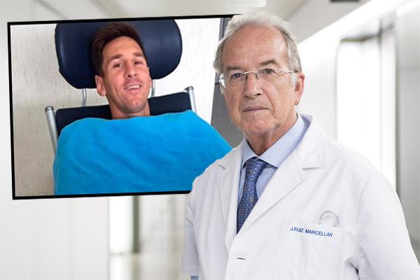 الطبيب الإسباني فرانسيسكو مارسيان يشرح وضعية ميسي