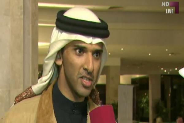 رئيس الاتحاد البحريني الشيخ علي بن خليفة آل خليفة