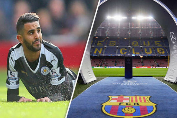 النجم الجزائري يتطلع للدفاع عن ألوان برشلونة