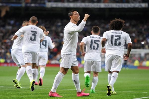 ريال مدريد الأكثر تهديفاً في الدوريات الأوروبية