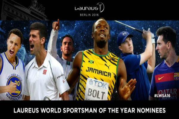 ميسي ينافس بولت وكوري وديوكوفيتش وهاميلتون على جائزة أفضل رياضي في العالم