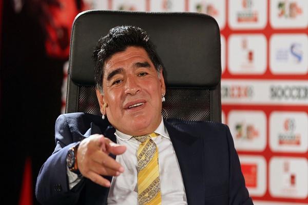 أسطورة الكرة الأرجنتينية، دييغو مارادونا