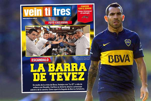 كارلوس تيفيز يثير الجدل مجدداً في الأرجنتين