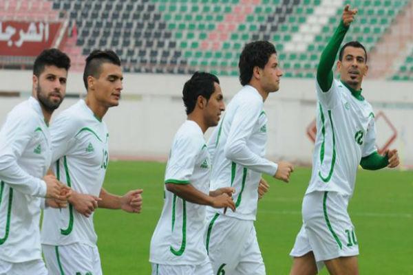 لاعبو المنتخب العراقي