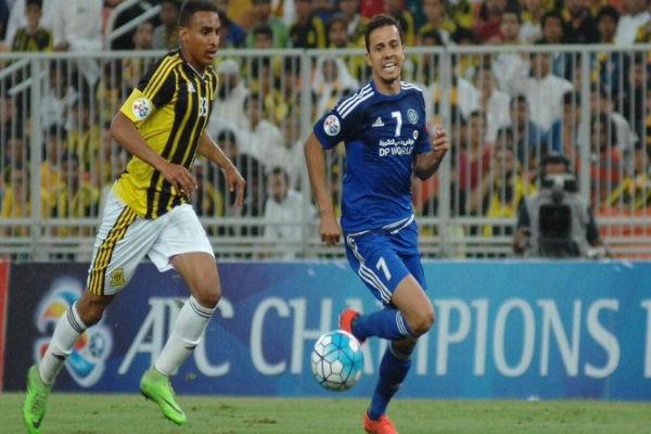 اتحاد جدة سقط أمام النصر الإماراتي