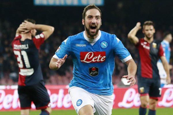 هيغواين يحقق رقماً قياسياً جديداً في تاريخ الدوري الإيطالي