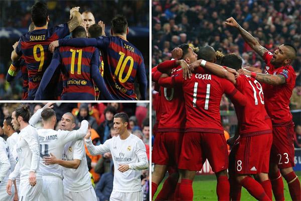 يعد العملاق البافاري أكثر الأندية الأوروبية تحقيقاً لهذا الأمر متجاوزاً قطبي الكرة الإسبانية ريال مدريد وبرشلونة