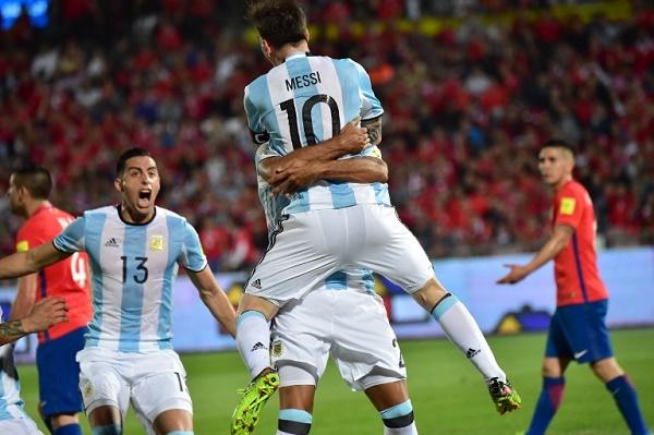 الأرجنتين تثأر من تشيلي