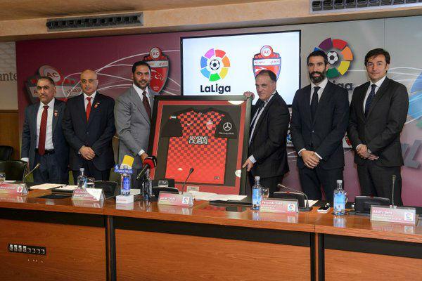 توأمة بين الأهلي الإماراتي ورابطة الدوري الإسباني