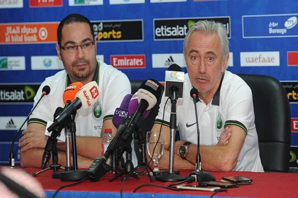 الهولندي بيرت فان مارفيك، مدرب المنتخب السعودي