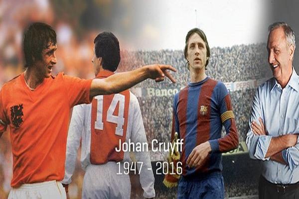 ردة فعل العالم الرياضي بعد وفاة الأسطورة كرويف