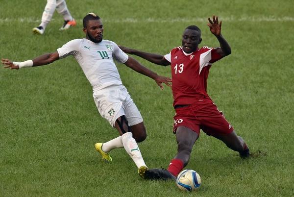 فوز ساحل العاج على السودان2017